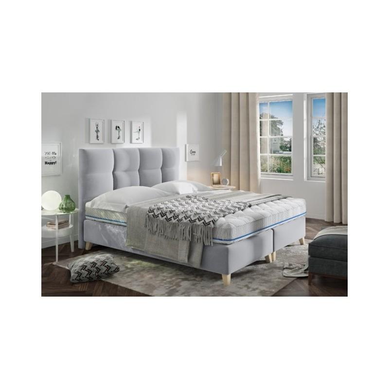 Łóżko tapicerowane MONA 180/200cm z pojemnikiem na pościel