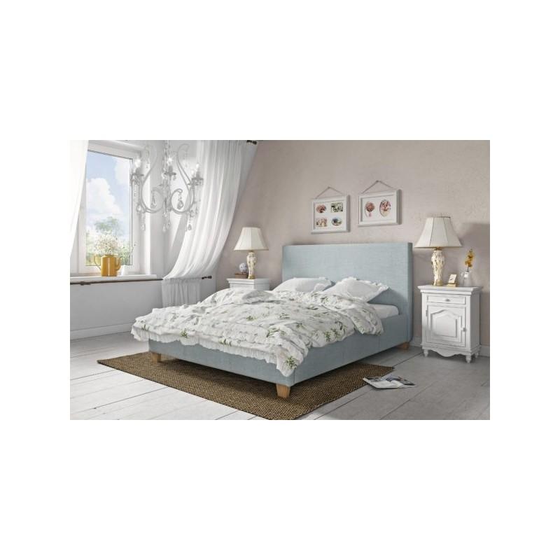 Minimalistyczne łóżko tapicerowBASICane BASIC 90/200cm